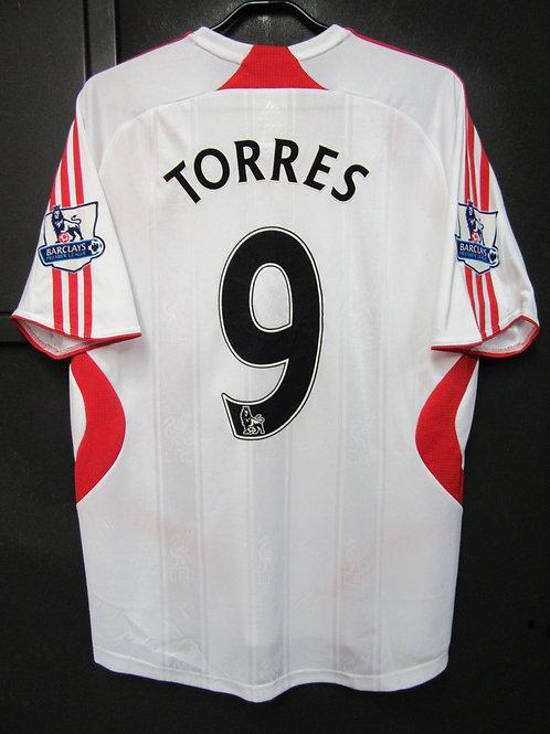 【2007/08】 / Liverpool / Away / No.9 TORRES