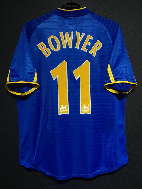 【2001/03】 / Leeds United / Away & 3rd / No.11 BOWYER
