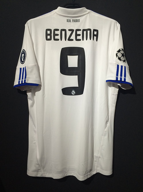 【2010/11】 / Real Madrid C.F. / Home / No.9 BENZEMA / UCL