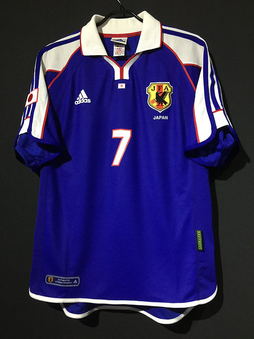 【2001/02】 / Japan / Home / No.7 NAKATA / Authentic