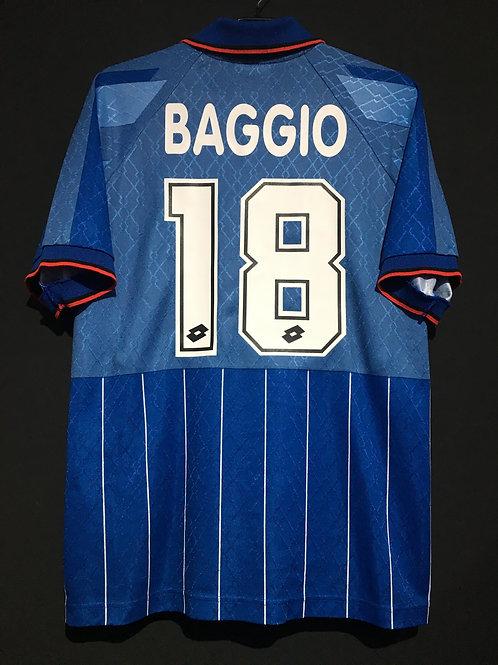 【1995/96】 / A.C. Milan / 4th / No.18 BAGGIO