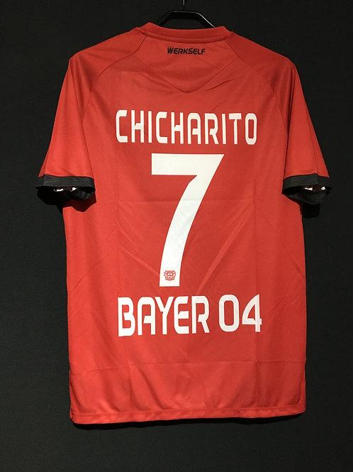 【2016/17】 / Bayer Leverkusen / Away / No.7 CHICHARITO