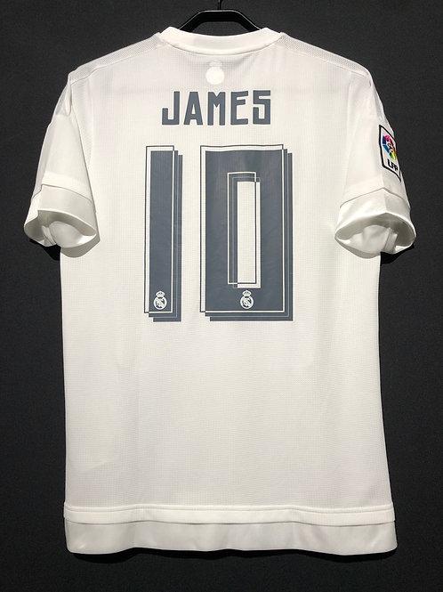 【2015/16】 / Real Madrid C.F. / Home / No.10 JAMES