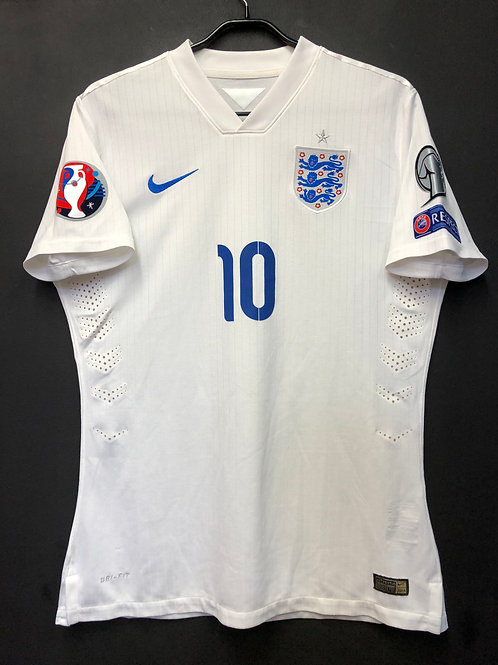 【2014/15】 / England / Home / No.10 ROONEY / EURO2016 Qualifiers / Playser Issue