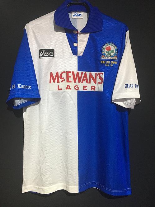 【1995/96】 / Blackburn Rovers / Home / Premier League Champions 1994-95