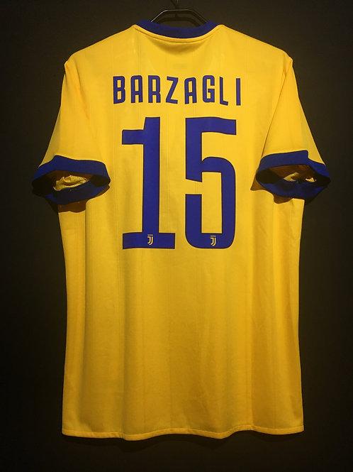 【2017/18】 / Juventus / Away / No.15 BARZAGLI