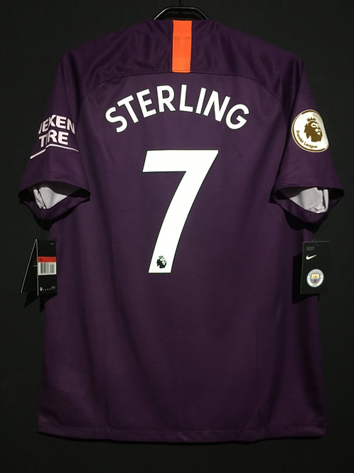 【2018/19】/ Manchester City / 3rd / No.7 STERLING