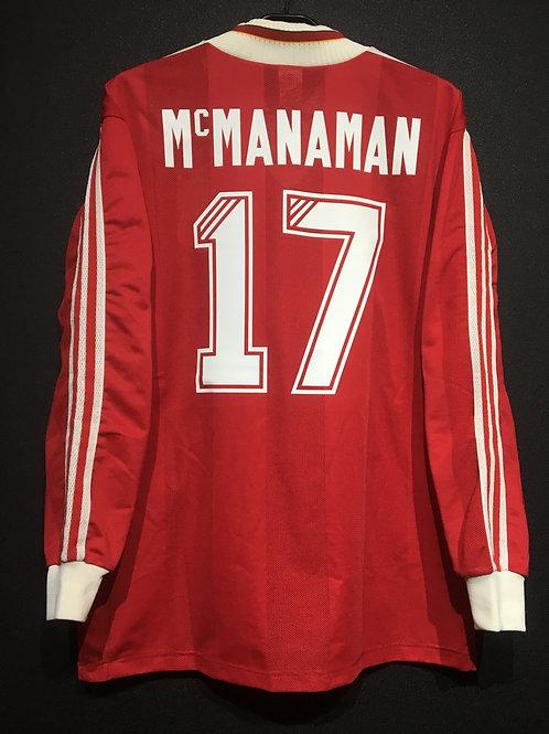 【1995/96】 / Liverpool / Home / No.17 McMANAMAN