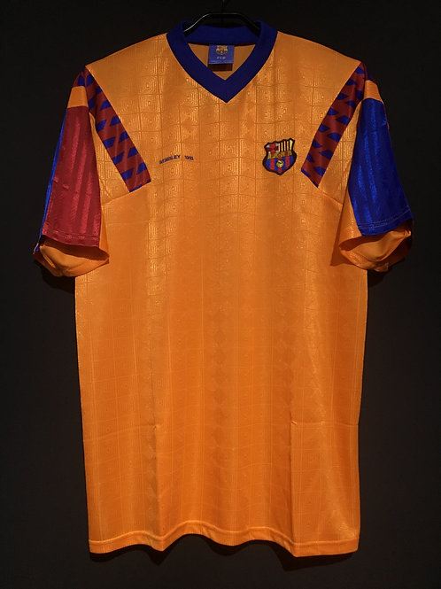 【1992】 / FC Barcelona / Away / 25 years from UCL1992 Winning