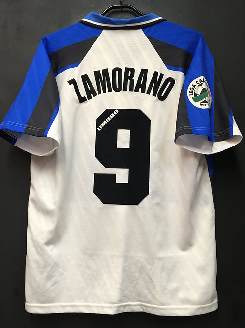 【1996/97】 / Inter Milan / Away / No.9 ZAMORANO