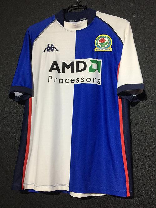 【2002/04】 / Blackburn Rovers / Home