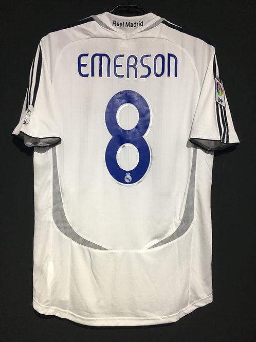 【2006/07】 / Real Madrid C.F. / Home / No.8 EMERSON