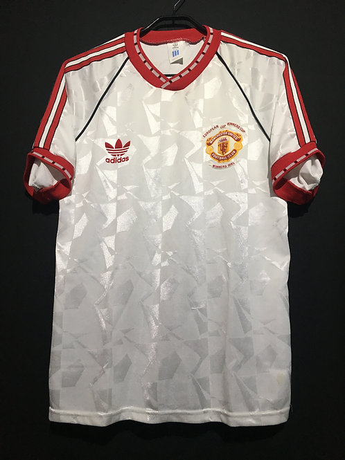 【1991】 / Manchester United / Away / Cup Winners Cup Champion