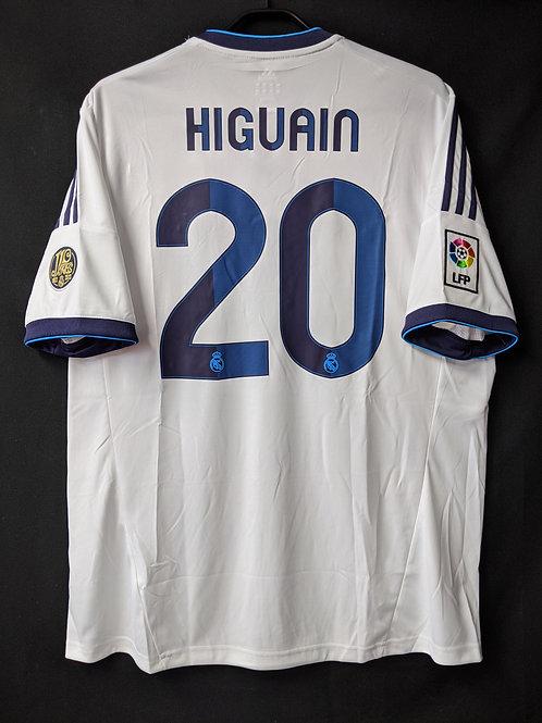 【2012/13】 / Real Madrid C.F. / Home / No.20 HIGUAIN