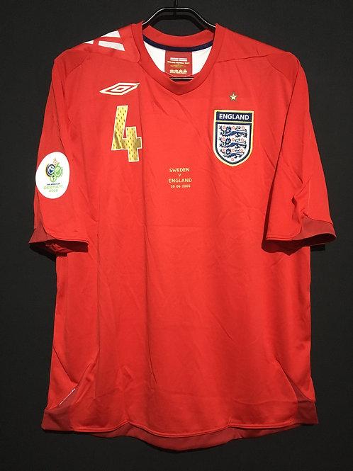 【2006】 / England / Away / No.4 GERRARD / FIFA World Cup