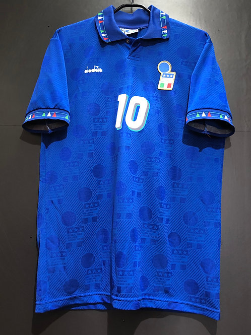【1994】 / Italy / Home / No.10 R.BAGGIO / Made in Itally