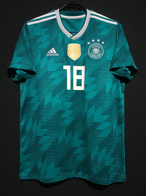 【2018】 / Germany / Away / No.18 KIMMICH