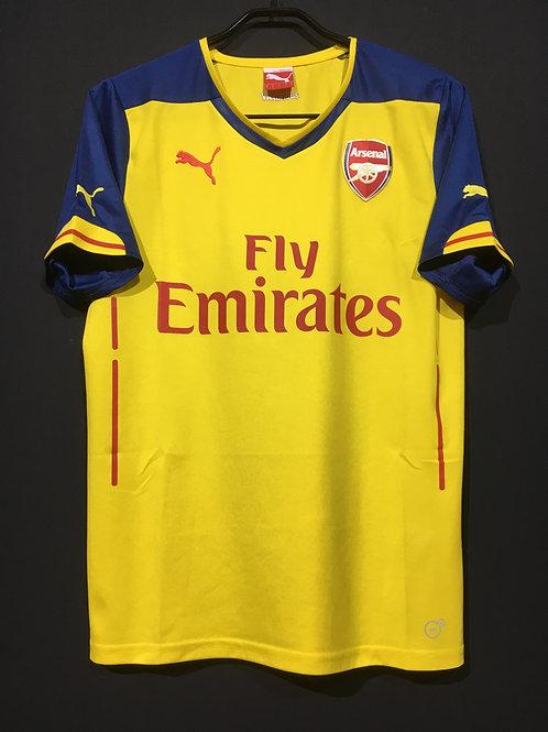 【2014/15】 / Arsenal / Away