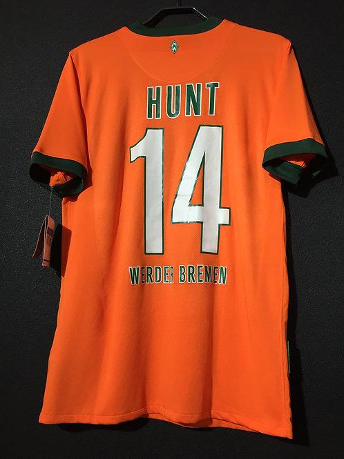 【2009/10】 / Werder Bremen / 3rd / No.14 HUNT