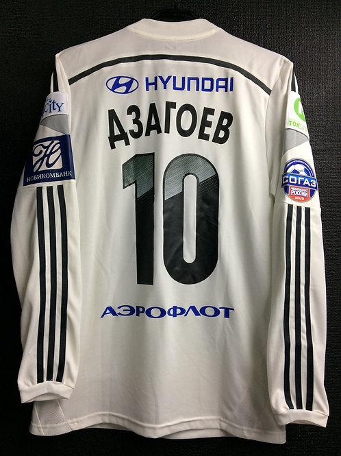 【2014/15】 / CSKA Moscow / Away / No.10 Дзагоев / Player Issue