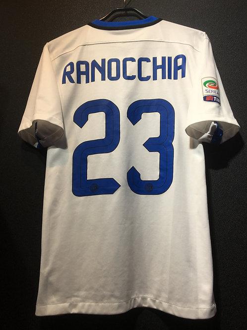 【2015/16】 / Inter Milan / Away / No.23 RANOCCHIA