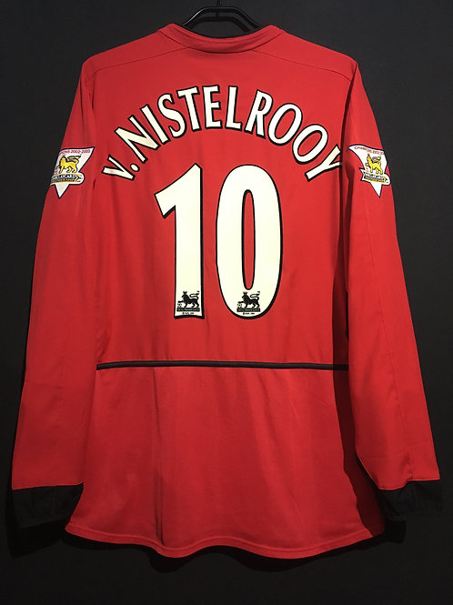【2003/04】 / Manchester United / Home / No.10 v.NISTELROOY