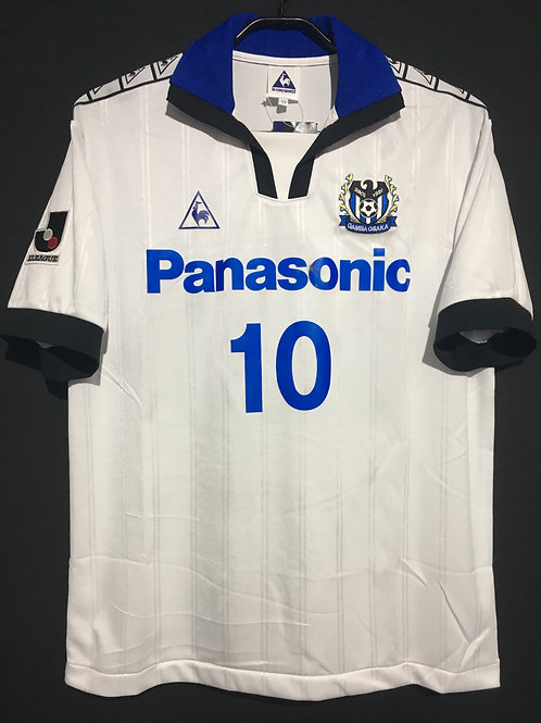 【1999/2000】 / Gamba Osaka / Away / No.10