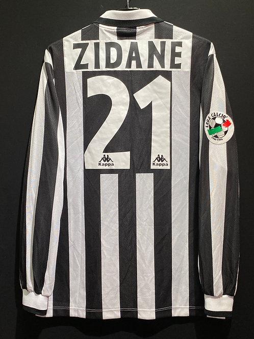 【1996/97】 / Juventus / Home / No.21 ZIDANE / Phase1