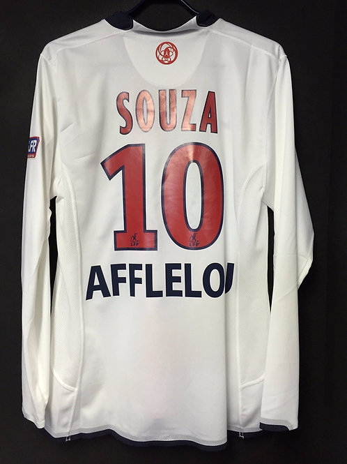 【2007/08】 / Paris Saint-Germain / Away / No.10 SAOUZA / Player Issue