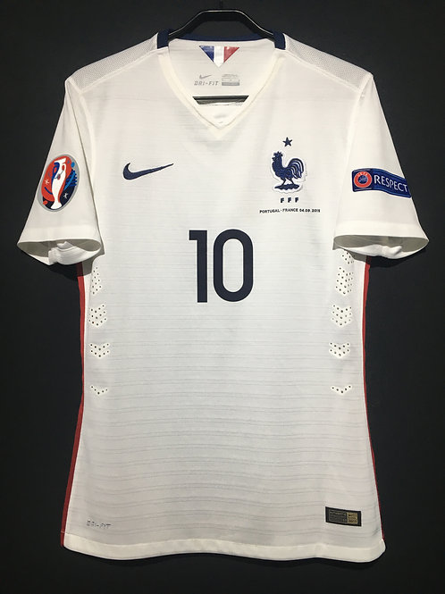 【2015】 / France / Away / No.10 BENZEMA  / FIFA World Cup Qualifiers / Authentic