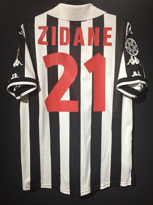 【1998/99】 / Juventus / Cup(Home) / No.21 ZIDANE / UCL