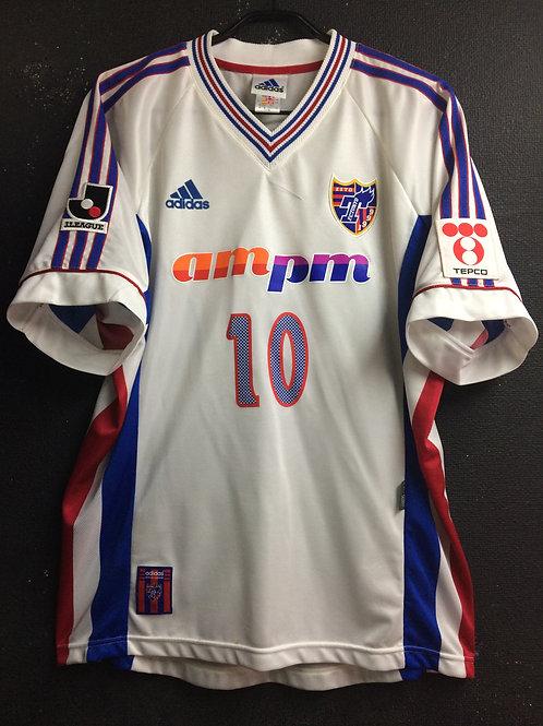 【1999/2000】 / FC Tokyo / Away / No.10