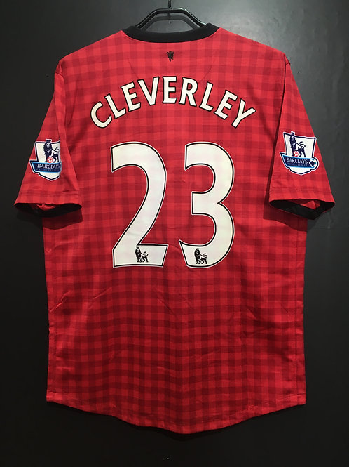 【2012/13】 / Manchester United / Home / No.23 CLEVERLEY