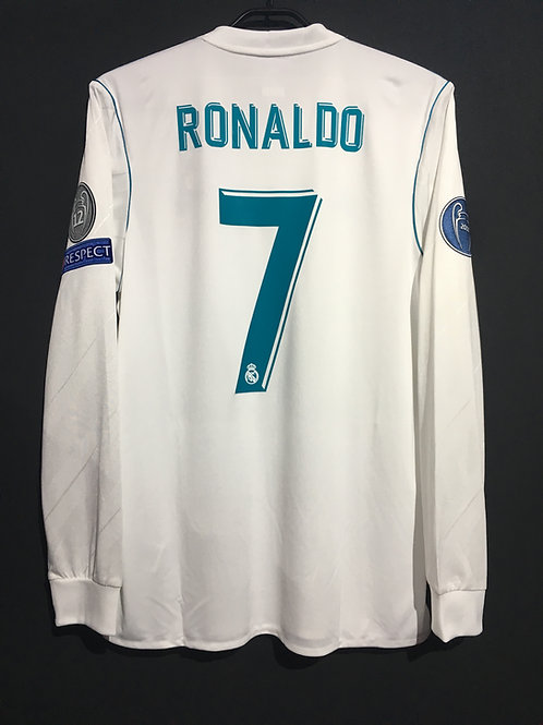 【2017/18】 / Real Madrid C.F. / Home / No.7 RONALDO / UCL