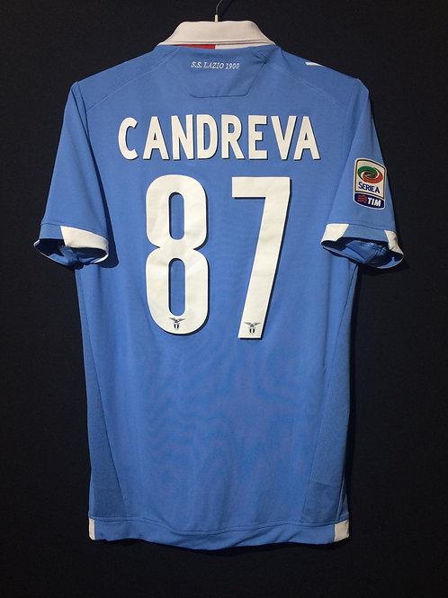 【2014/15】 / S.S. Lazio / Home / No.87 CANDREVA / Authentic
