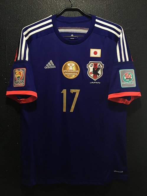 【2015】 / Japan / Home / No.17 HASEBE / AFC Asian Cup