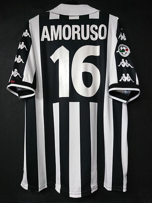 【1999/2000】 / Juventus / Home / No.16 AMORUSO / Player Issue