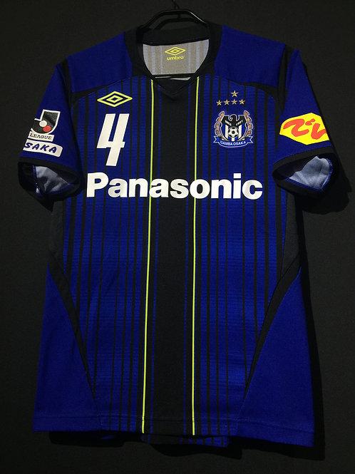 【2012】 / Gamba Osaka / Home / No.4 FUJIHARU