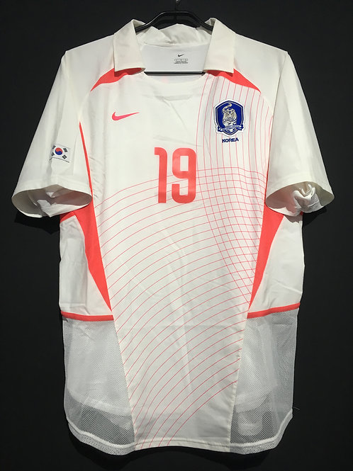 【2002/03】 / South Korea / Away / No.19 J H AHN / Authentic