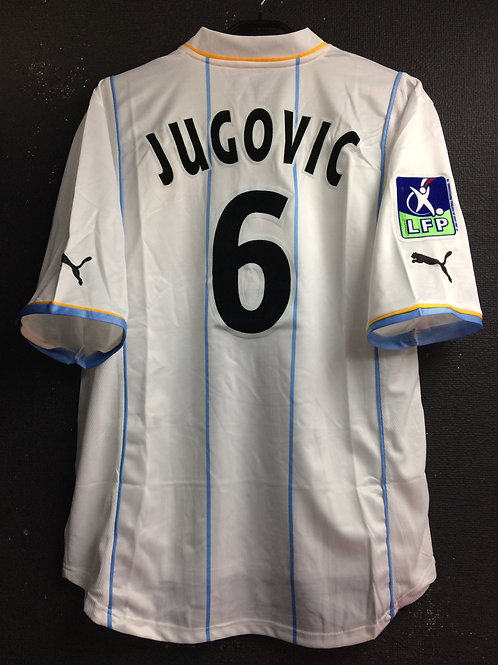 【2002/03】 AS Monaco / Away / No.6 JUGOVIC