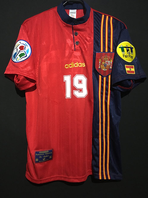 【1996】 / Spain / Home / No.19 J.SALINAS / UEFA European Championship