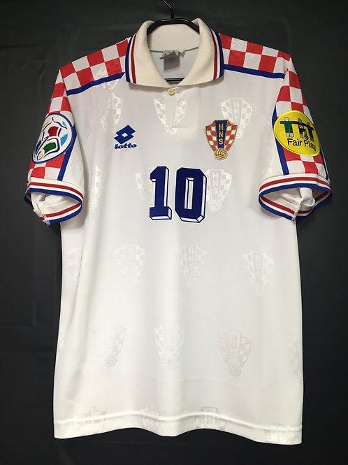 【1996】 / Croatia / Away / No.10 BOBAN / UEFA European Championship