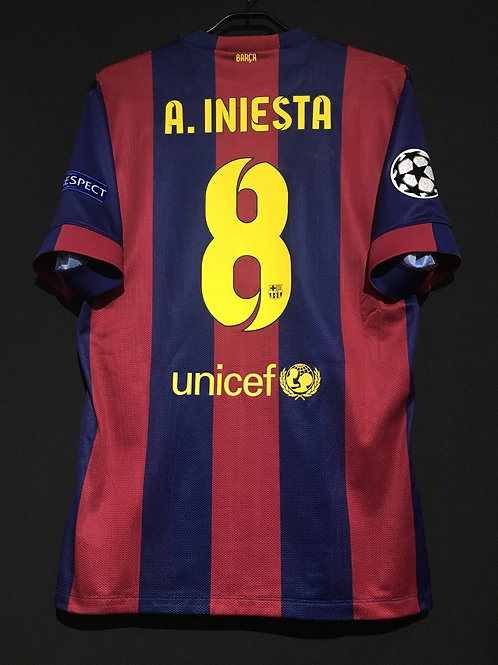 【2014/15】 / FC Barcelona / Home / No.8 A.INIESTA / UCL