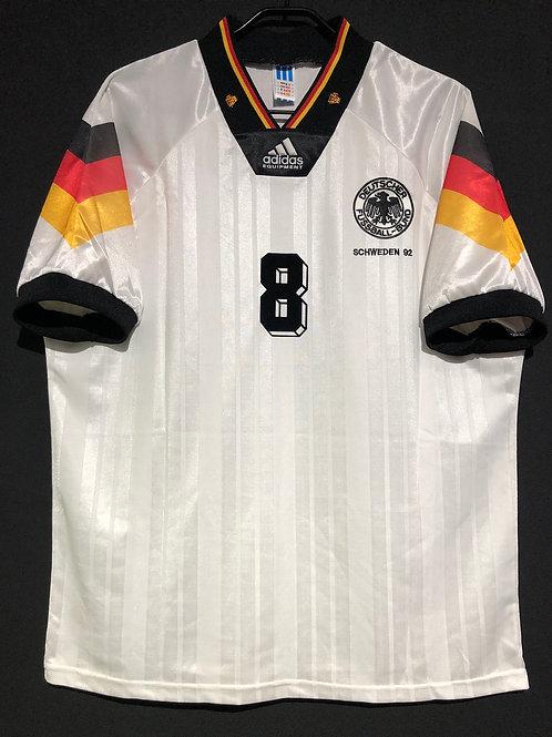 【1992】 / Germany / Home / No.8 HASSLER / UEFA European Championship