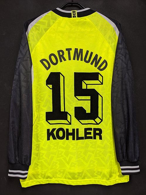 【1995/96】 / Borussia Dortmund / Home / No.15 KOHLER