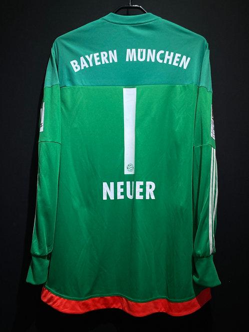 【2015/16】 / FC Bayern Munich / GK(Away) / No.1 NEUER