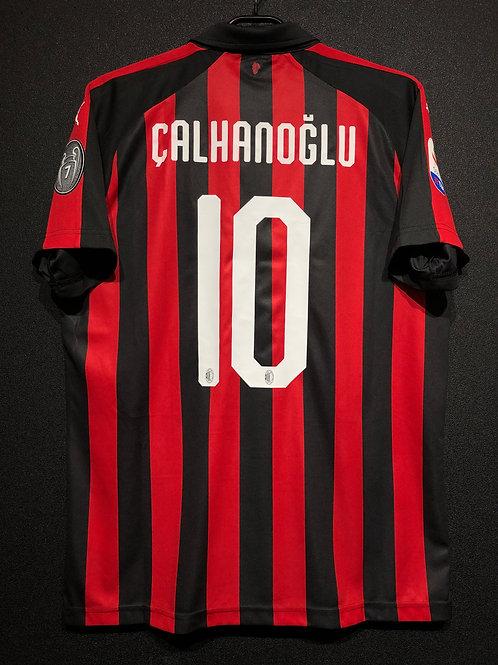 【2018/19】 / A.C. Milan / Home / No.10 CALHANOGLU