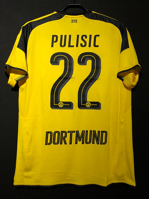 【2016/17】 / Borussia Dortmund / Cup(Home) / No.22 PULISIC