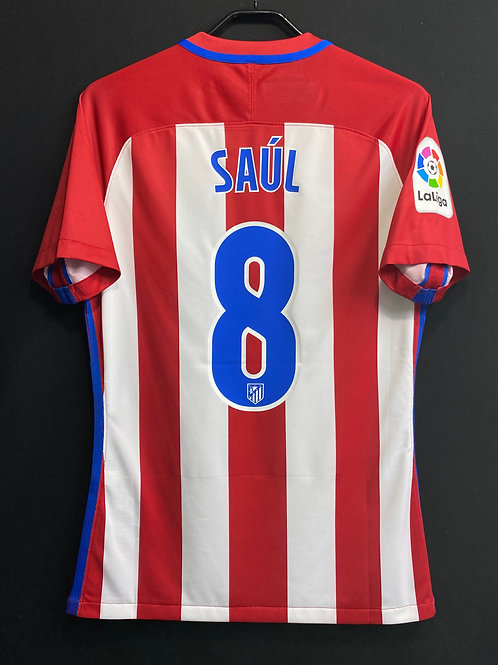 【2016/17】 / Atletico Madrid / Home / No.8 SAUL / Player Issue