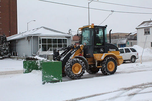 commercial snow removal, Oshawa Snow Rem